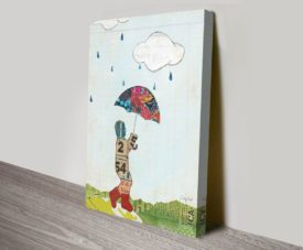 Rain and Wind III on Canvas Print Arts Online