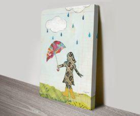 Rain and Wind IV Canvas Work Art Gallery Online