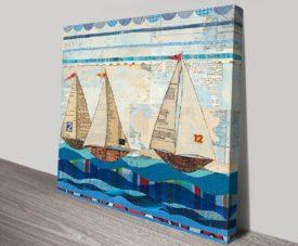 Sailing Art Print on Canvas