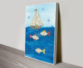 Sailing Together I Canvas Work Art Gallery Online