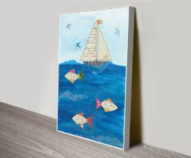 Sailing Together II Canvas Work Art Online Gallery