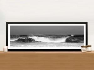 Waves Photo Framed Wall Art