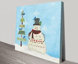 Winter Fun IV Artwork | Print on Canvas