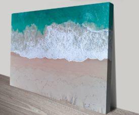 Beach Vibes Matt Day Collection on Canvas Print Art Gallery