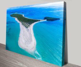Boullanger Island Matt Day Collection on Canvas Print Art Gallery