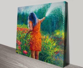 Celia's Garden Artwork on Canvas Gallery Online