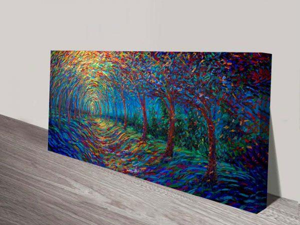 House of Moon and Trees Iris Scott artwork