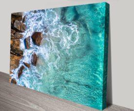 Meelup Rocks Matt Day Collection on Canvas Print Art Gallery