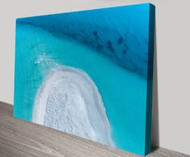 Remote Paradise V3 Matt Day Collection on Canvas Print Art Gallery