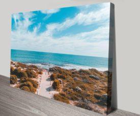 Sovereign Beach Matt Day Collection on Canvas Print Art Gallery