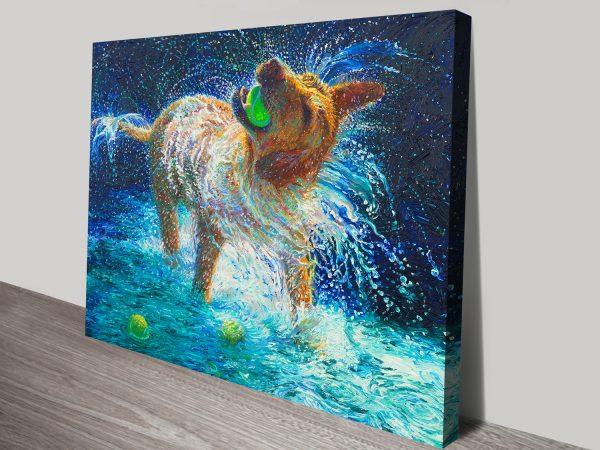 The Juggler iris Scott Canvas Art For Sale