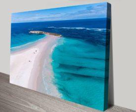Wedge Island Matt Day Collection on Canvas Print Art Gallery