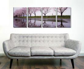 Cherry Blossom Lane 4 Panel