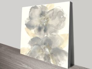 Floral Gray II
