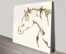 Gilded Cowpony
