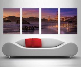 Golden Gate 4 Panel