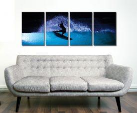 Night Surf 4 Panel