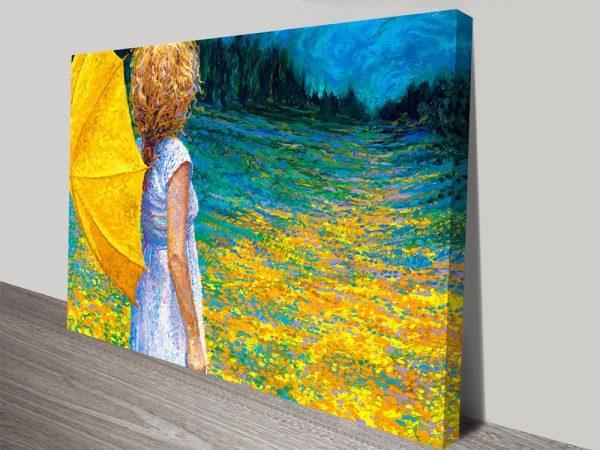 Past the Property Line Canvas Art Online