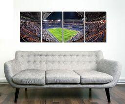 Real Madrid Santiago Bernabeu Stadium 4 Panel