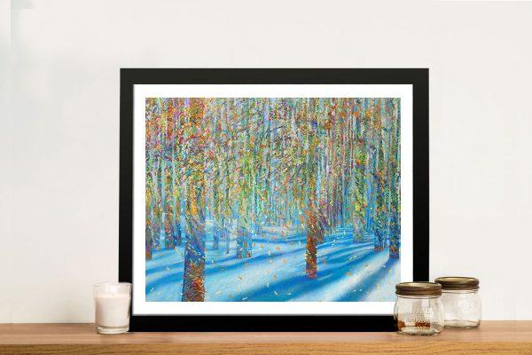 Iris Scott Snowfall Framed Wall Art