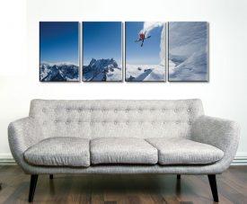 Thrill of the Snow 4 Panel