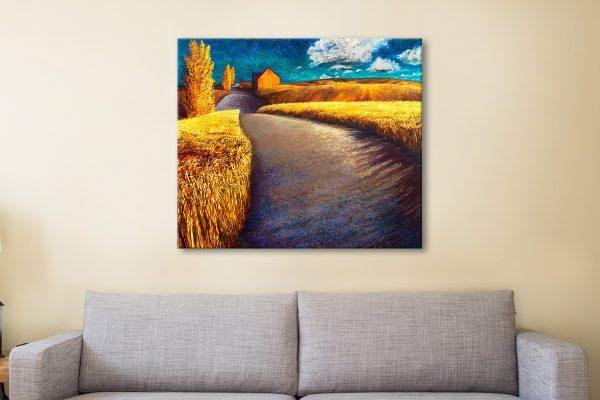 Buy Affordable Vibrant Iris Scott Wall Art AU