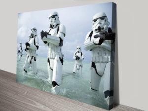 Stormtrooper Star Wars Canvas Prints
