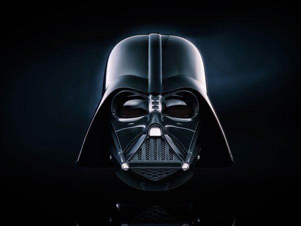Darth Vader Helmet Canvas Wall Art Print