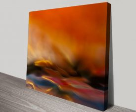 Flaming Water Canvas Online