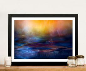 Inner Peace Abstract Framed Wall Art