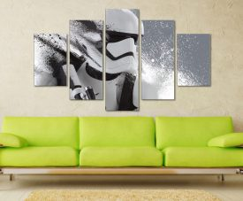 Stormtrooper Motion Canvas Photo Online Art