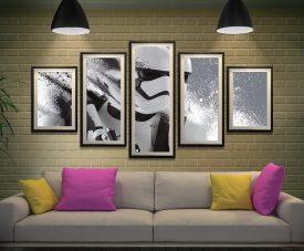 Stormtrooper Motion Canvas Photo Online Art