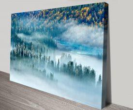 Magic Bay Landscape Canvas Print Art 1021607