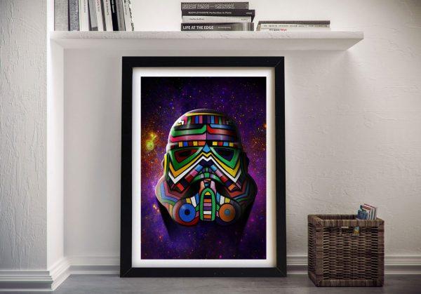 Cosmos Trooper Stormtrooper Star Wars Wall Print