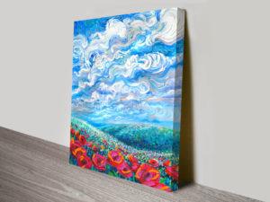 Arcadia Floral Wall Art by Iris Scott