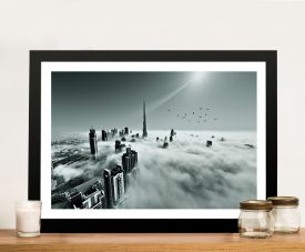 Burj Khalifa Dubai Photo Wall Pictures Framed Wall Art