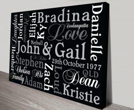 Personalised Word Art & Custom Framed Prints