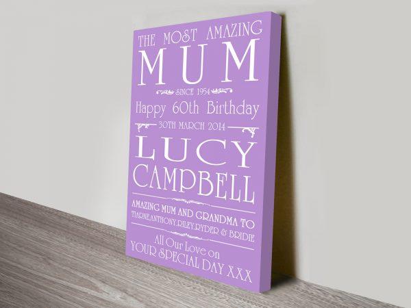 Birthday Wishes Gorgeous Customised Word Art