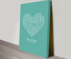 Personalised Gifts Custom Hearts
