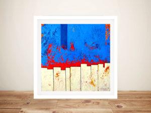 Explanation Abstract Framed Wall Art