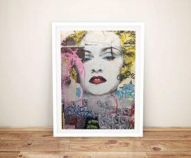 Mr Brainwash Marilyn Framed Wall Art Print