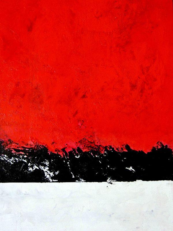 Contemporary canvas art print Sydney