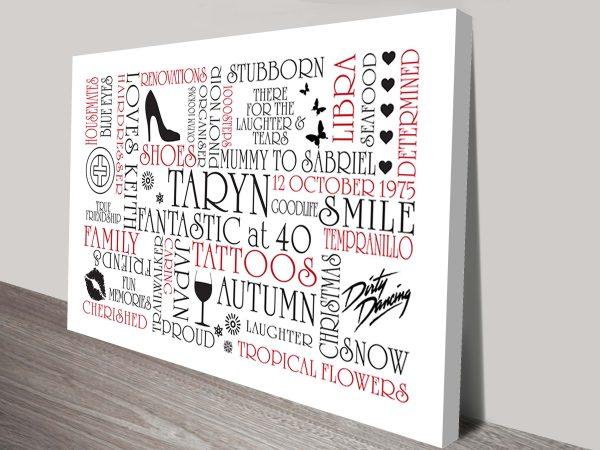 Typographic Clipart