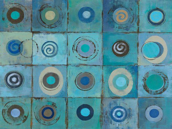 Underwater Mosaic Vassileva Canvas Art Print