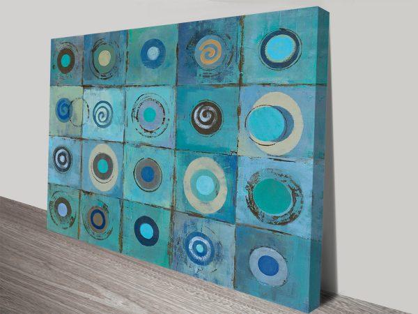 Underwater Mosaic Silvia Vassileva Canvas Print