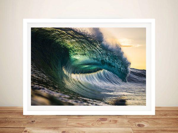 Oceans Might Surf Framed Wall Art