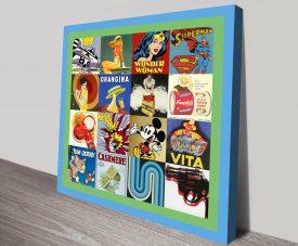 Retro Pop Art canvas print