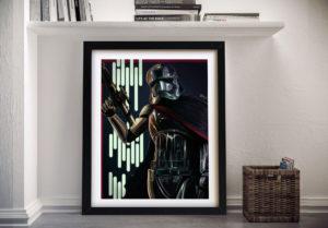 Captain Phasma Framed Wall Art