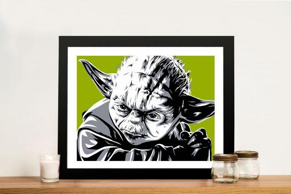 Yoda Pop Art Framed Picture