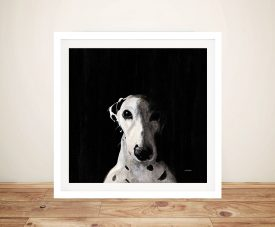 Dakota Dark Spot Rising Dalmation Painting Print
